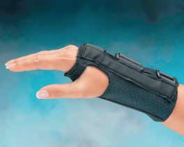 Comfort CoolTM Firm D-Ring Wrist Splint
