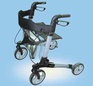 Aluminium Vierrad Rollator