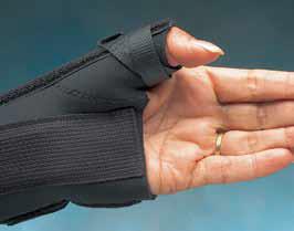 Daumen-Handgelenksmanschette Modell: D-Ring